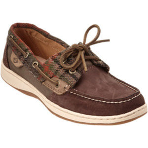 WOMEN'S SPERRY BLUEFISH WOOL BROWN SIZE 5M